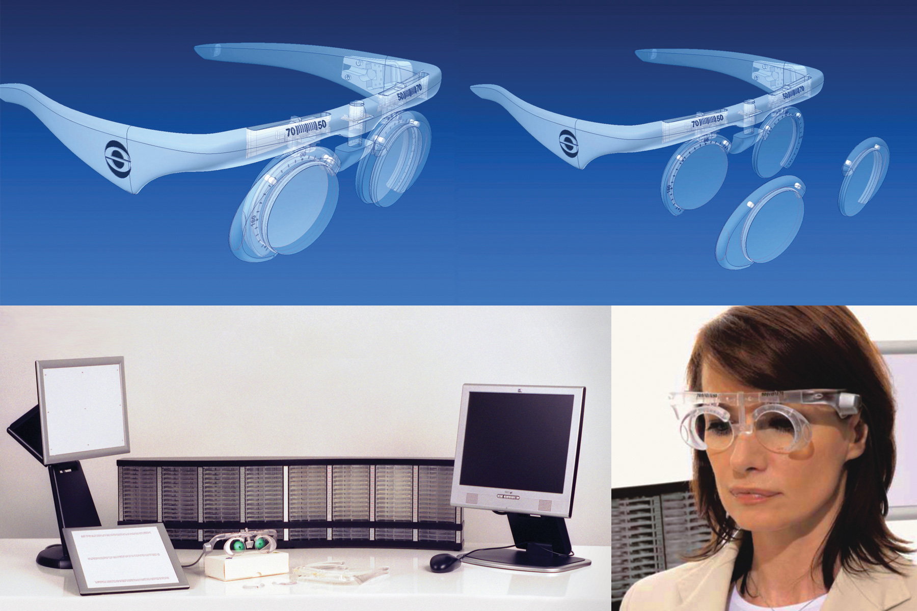 I-Tracker - Carl Zeiss ophthalmic instrument